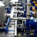 Instalação de compressores industriais