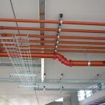 Montagem de redes de incêndio