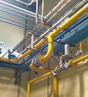 Montagem de tubulação industrial
